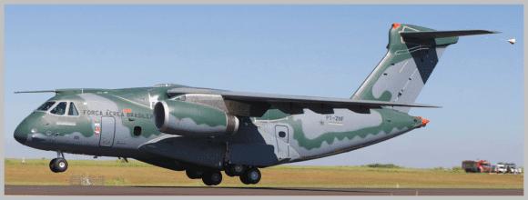 Embraer KC-390 arrives in the United States